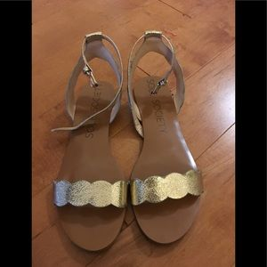 Sole Society Odette flat sandals